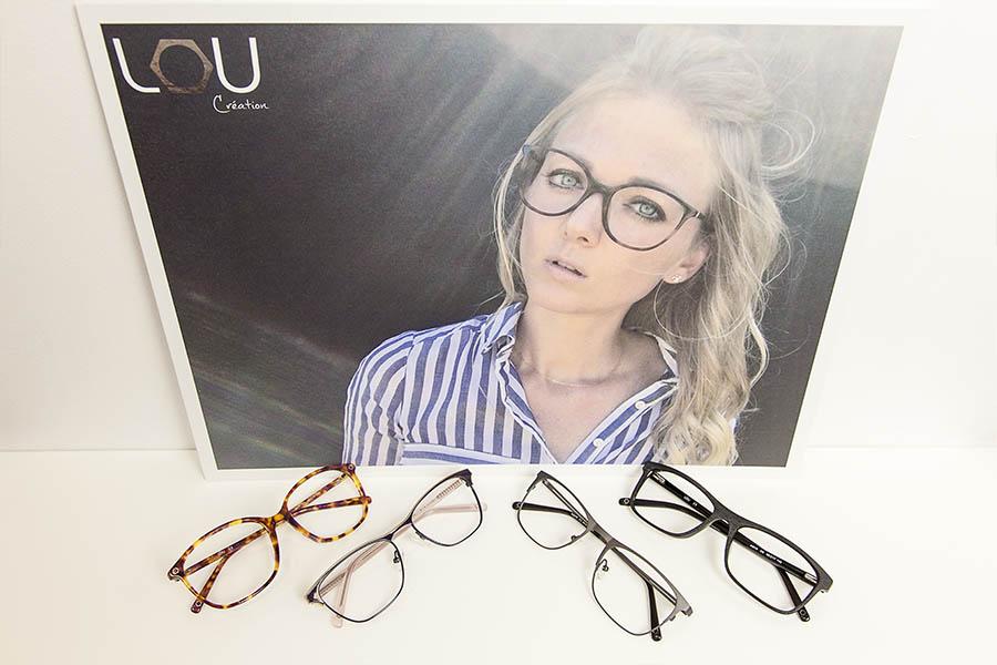 Les nouveautés - nouvelles collections lunettes Lou Création - opticien à Nîmes