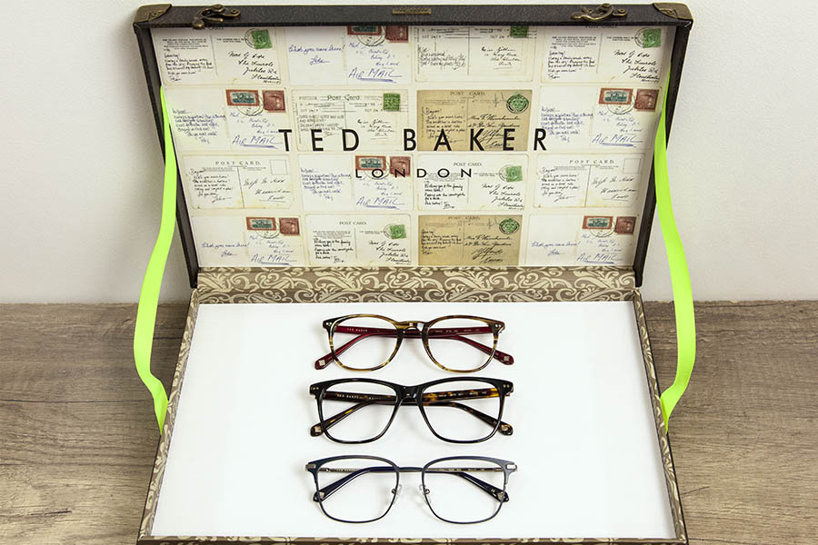 Les nouveautés - nouvelles collections lunettes Ted Baker - opticien à Nîmes